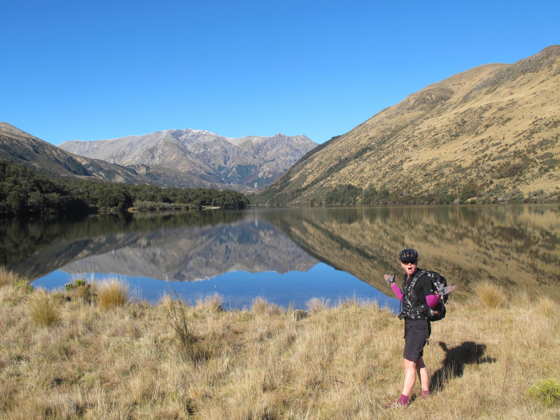 St James Cycle Trail Sarah by Lake Guyon credit bennettandslater.co.nz