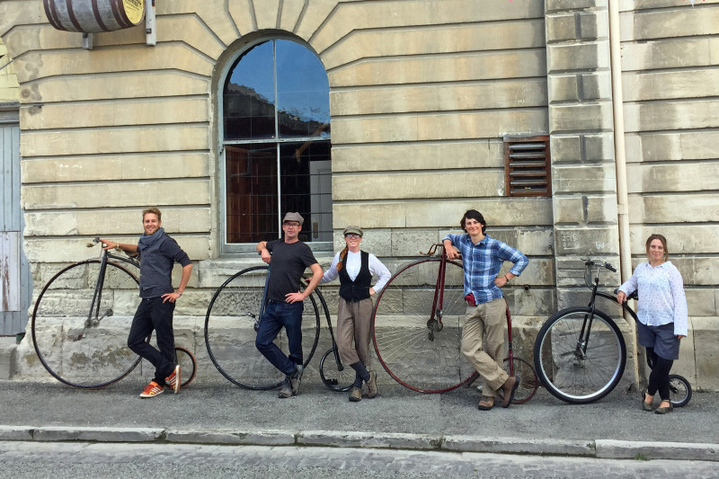 Oamaru Penny Farthings credit bennettandslater.co.nz