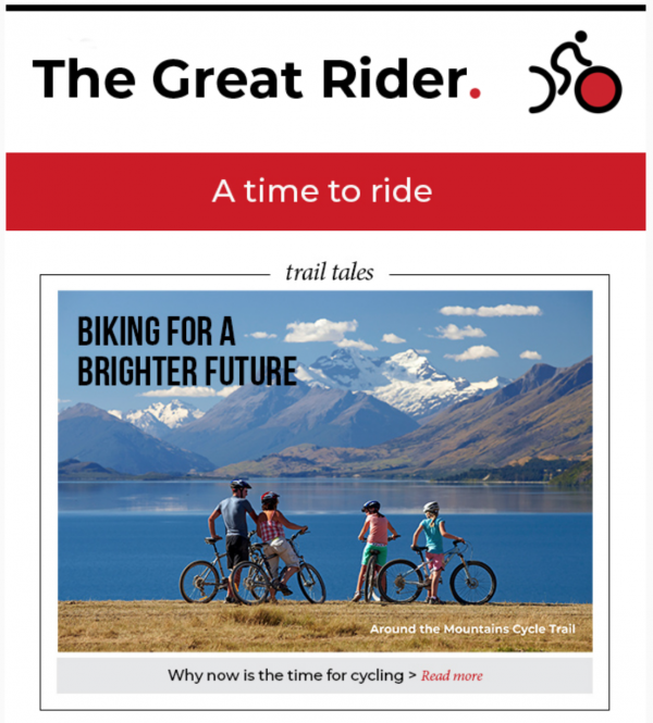 The Great Rider May 2020